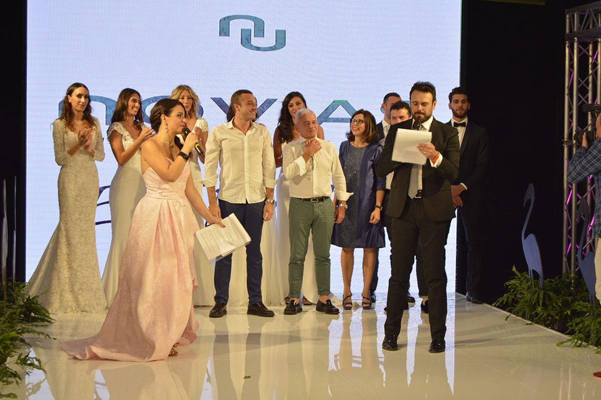 Abiti Da Sposa Ysa Makino 2018.Ensemble Fashion Show Sfilata Sposa Sposo E Cerimonia Donna