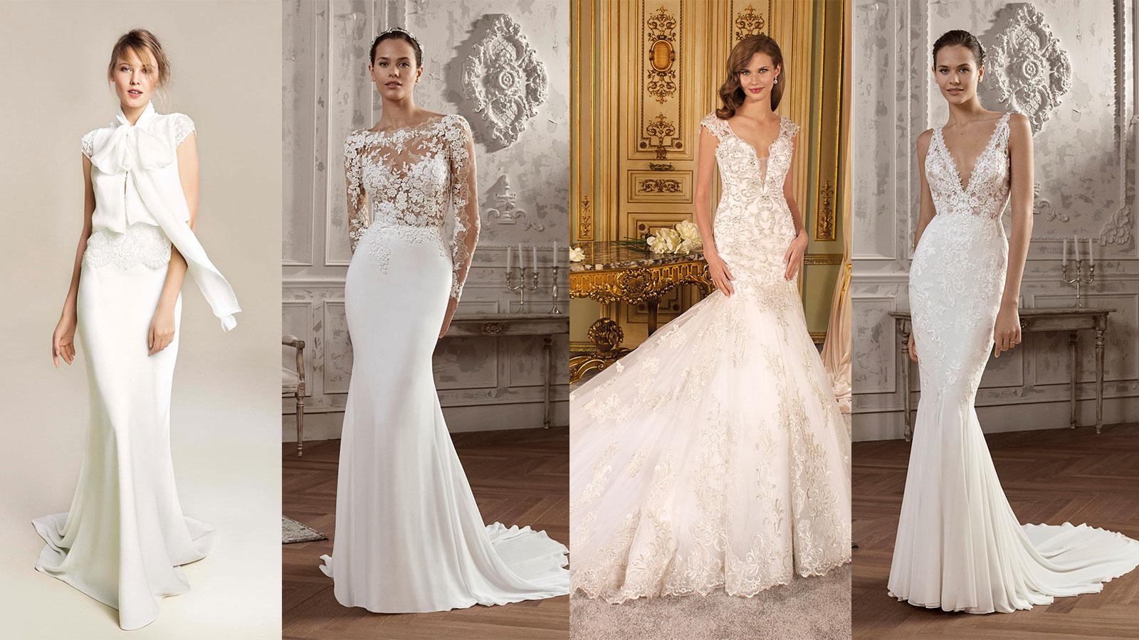 Abiti Da Sposa E Cerimonia.8 Abiti Da Sposa A Sirena 2019 Novias Abiti Da Sposi E